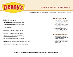 Denny's Forms and Downloads