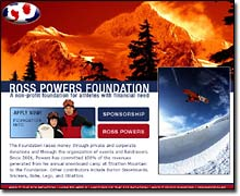 Ross Powers Foundation Home page