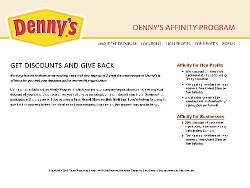 domain change for denny s affinity program saco design blog saco